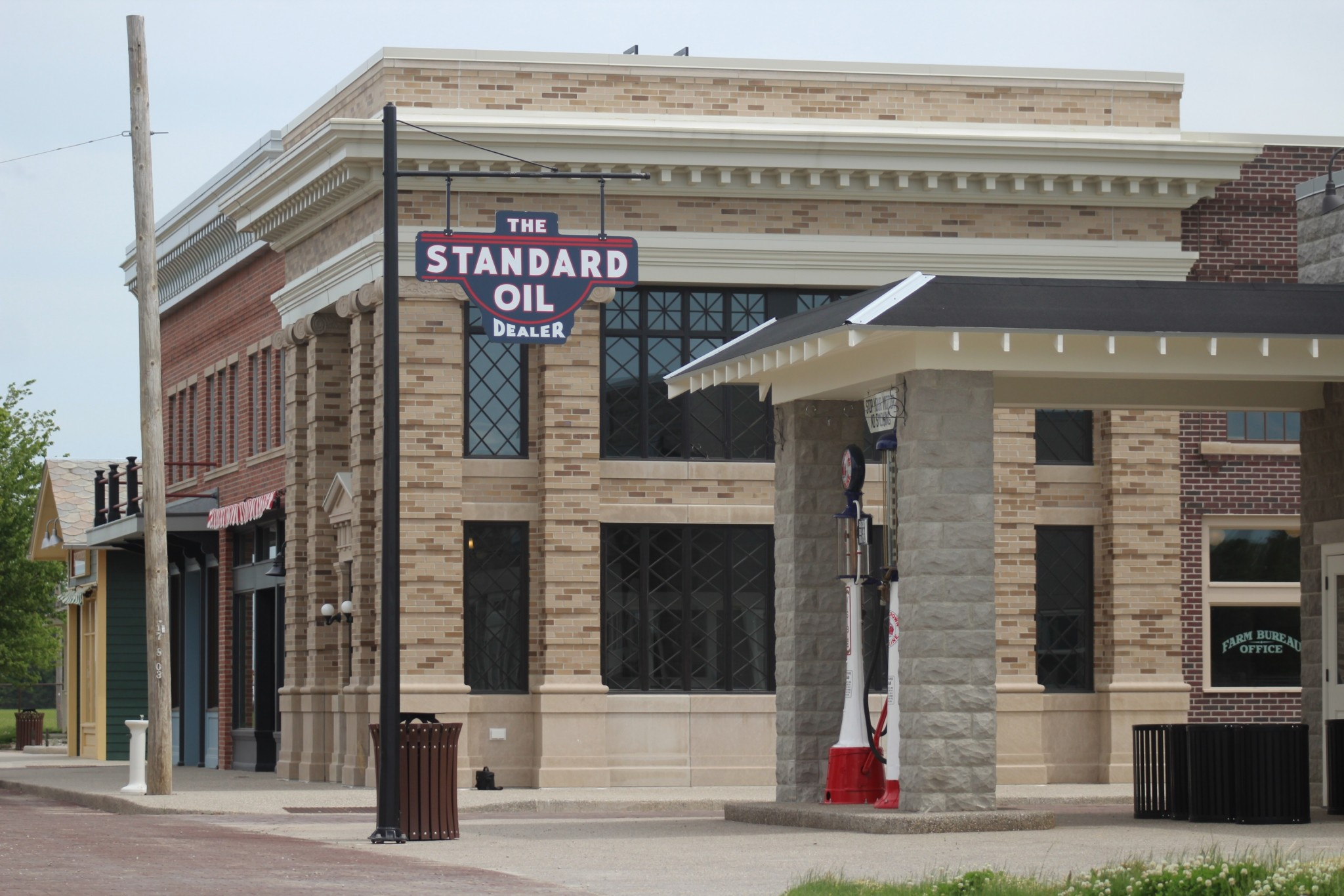 When Sauder Village opens June 24, guests will be among the first to experience some of the new buildings on the 1920s Main Street. (Submitted photo)