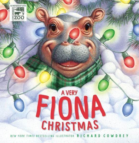 "Richard Cowdrey, illustrator of ""A Very Fiona Christmas"" will visit the Toledo Zoo Sunday, Dec. 15 from noon-2 p.m. in The Great Hall of the ProMedica Museum of Natural History at the Toledo Zoo."