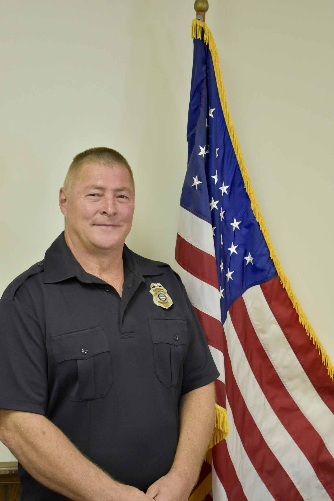 Retired Ottawa County Deputy Dean Hammer is serving under the Oak Harbor Police Department as the new Student Resource Officer (SRO) for Oak Harbor Middle School and R.C. Waters Elementary in the Benton-Carroll-Salem School District. (Submitted photo)