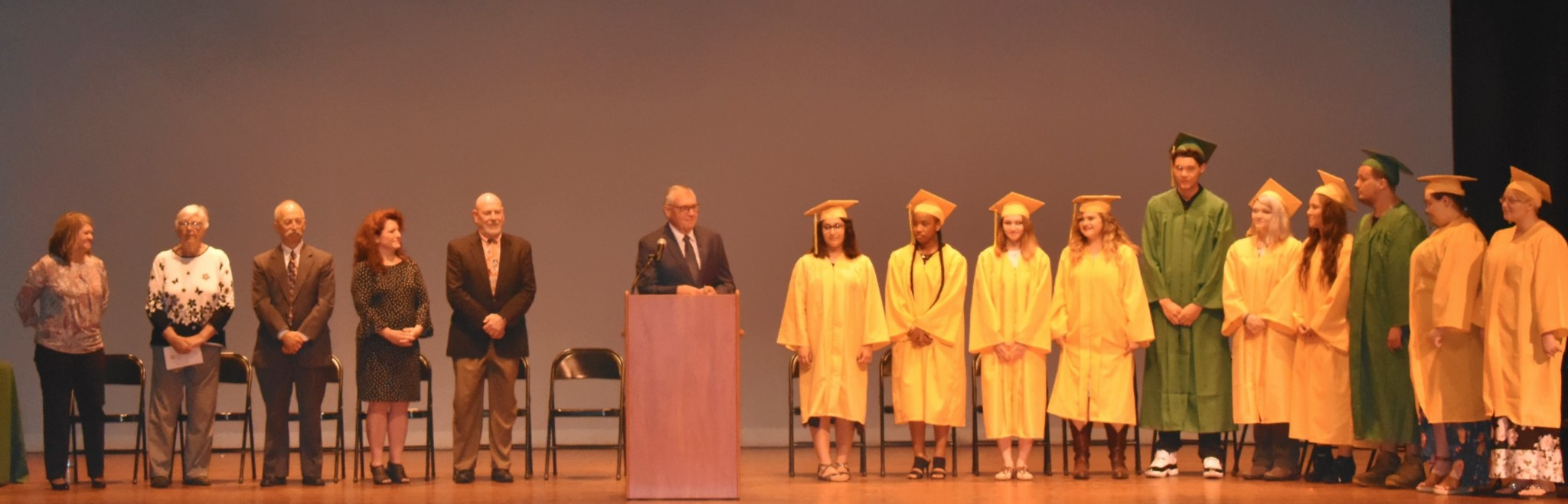 Oregon Eagle Learning Center commencement ceremonies. (Submitted photo)