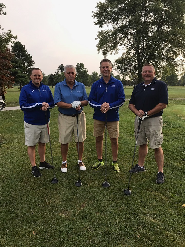 Pictured (from left) at the 21st Annual GenoaBank Golf Outing are GenoaBank Board members Steven Irwin, John Harbal, Mark Hecklinger and Kevin Bringe. (Submitted photo)