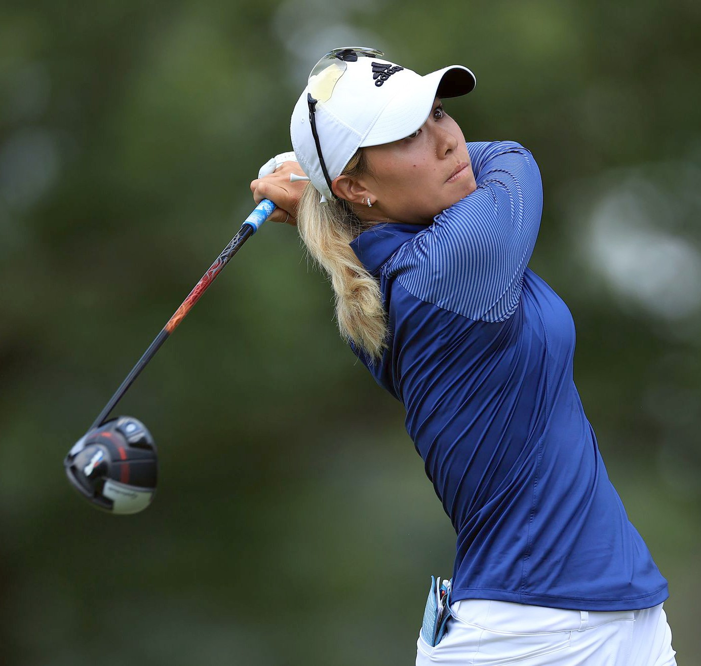 During the Marathon Classic at Sylvania's HIghland Meadows, champion Danielle Kang. (Photo courtesy Getty Images)