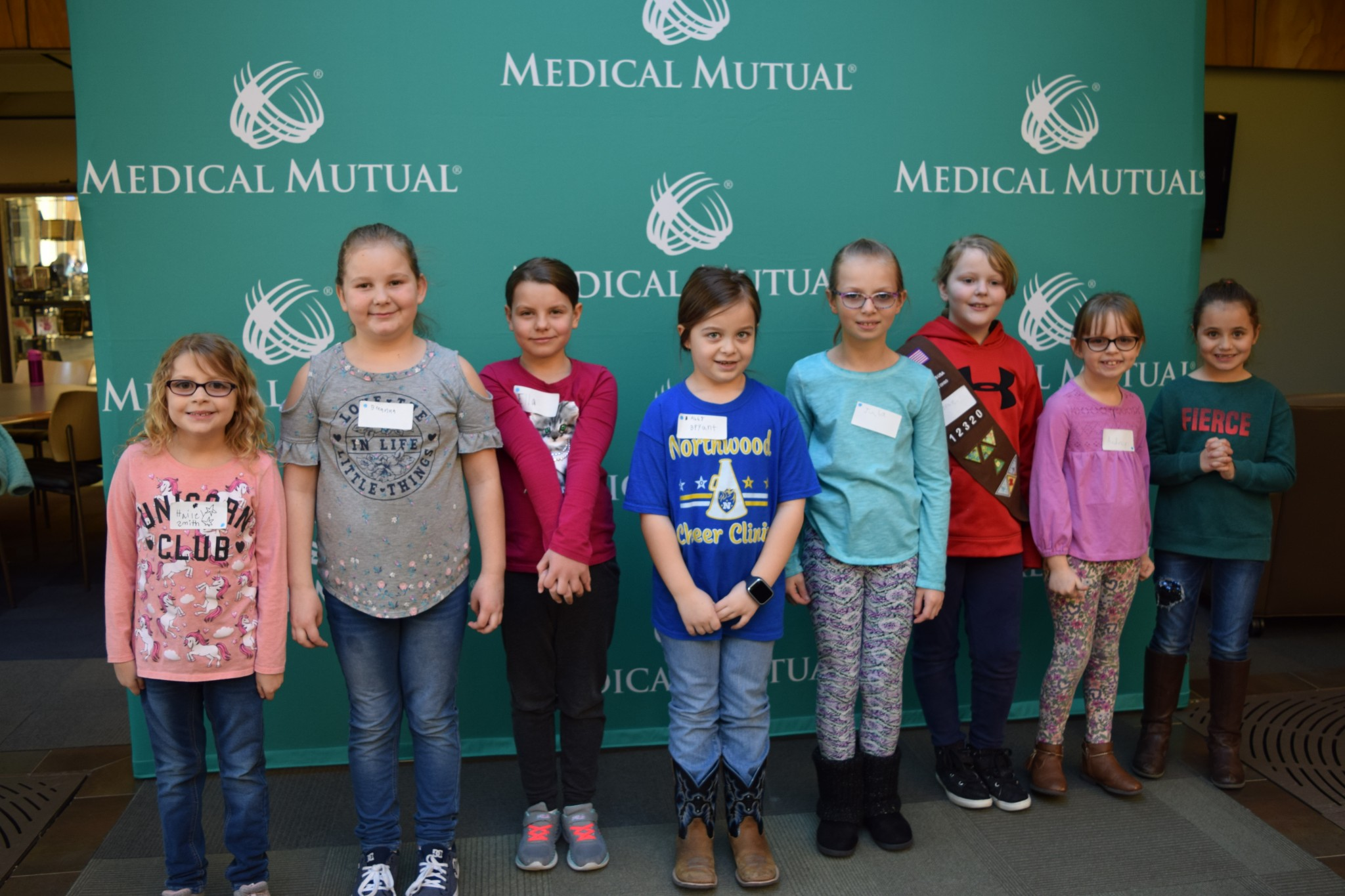 "On March 23, Northwood Elementary students participated in the ""My Best Self"" badge day, where they participated in fitness sessions at Medical Mutual offices in Sylvania."