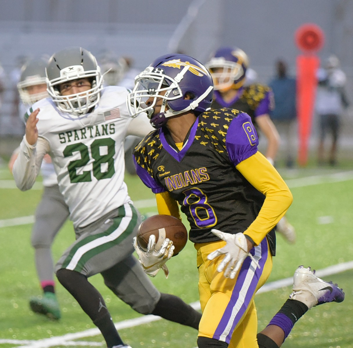 "Last year, Waite running back Jayven Boose runs for yardage against Start. (File photo courtesy Innovations Portrait Studio/<a href=""http://www.InnovationsVisualImpact.com"">www.InnovationsVisualImpact.com</a>)"