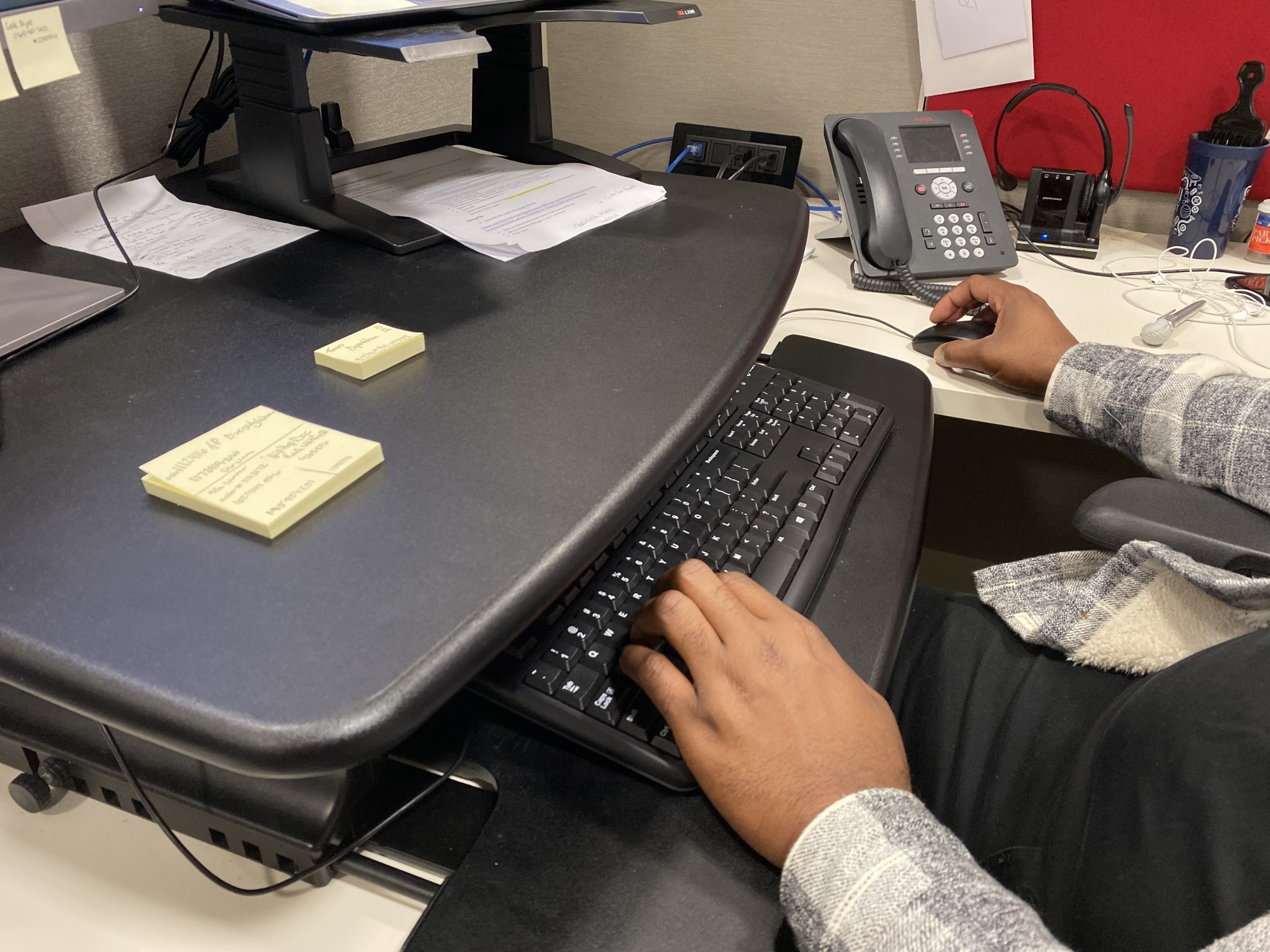 "Spending long hours at the office can lead to high blood pressure, including a type that can go undetected during a doctor's office visit, according to a study published in the American Heart Association's journal ""Hypertension."" (Photo copyright, American Heart Association)"