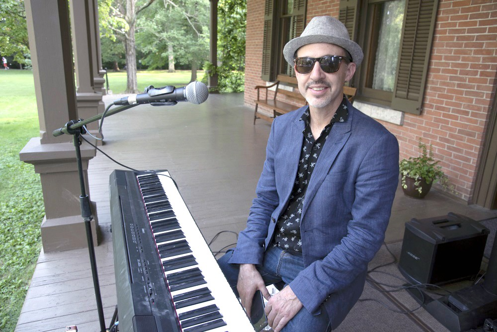 """Matthew Ball, aka """"The Boogie Woogie Kid,"""" will perform at a virtual Verandah Concert presented by Hayes Presidential Library & Museum Aug. 5 via Facebook Live. (Submitted photo)"""