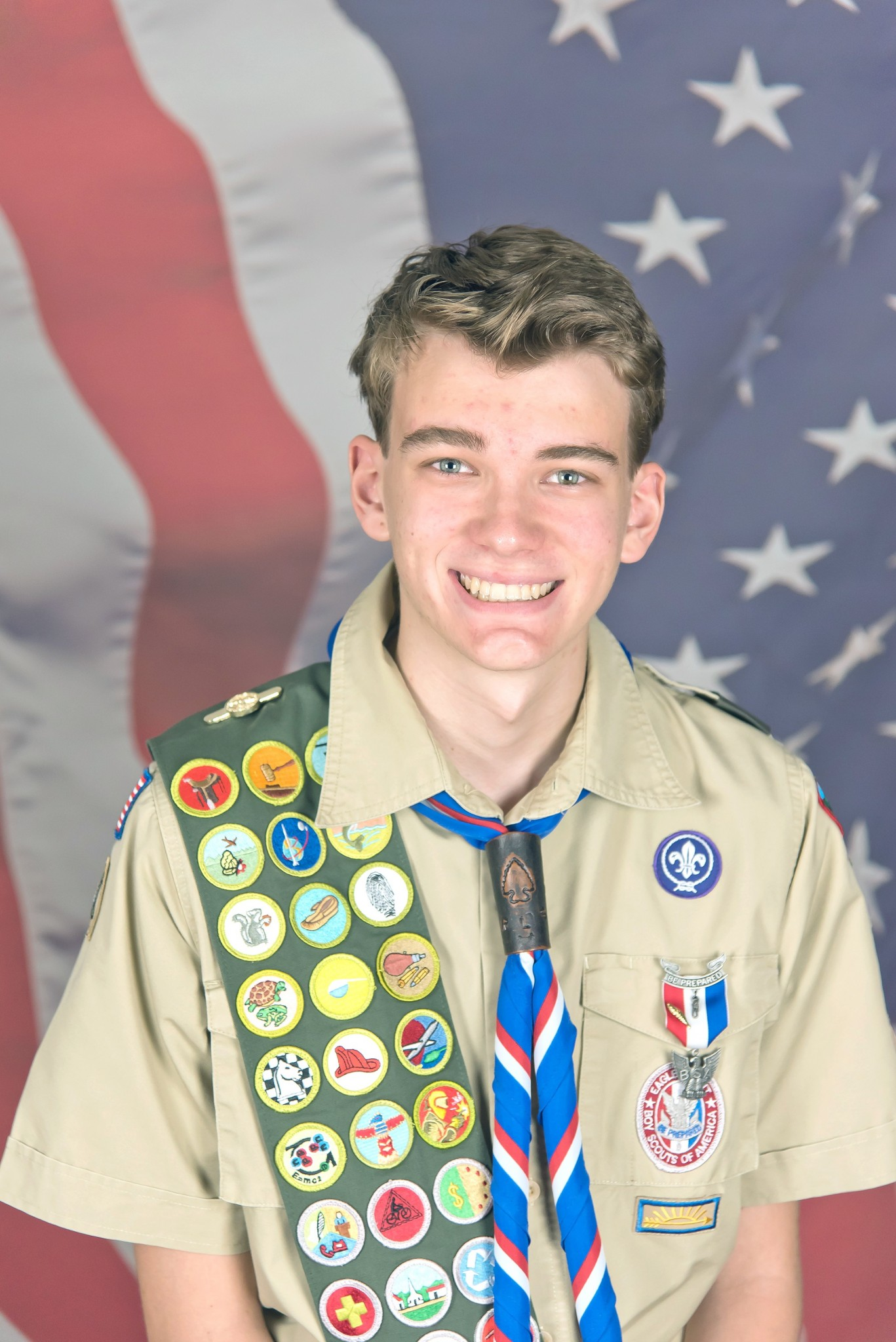 Matthew Robinson, of Curtice, earned the rank of Eagle Scout in a court of honor ceremony Aug. 4. He is a member of Troop #342, sponsored by St. John Lutheran Church, Williston. (Submitted photo)