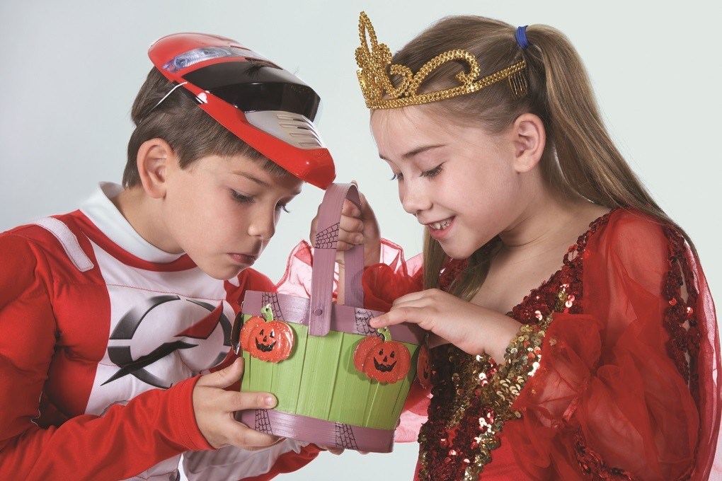 Discourage young trick-or-treaters to wait until they get home to enjoy their treats. A responsible adult should closely examine all treats and throw away any spoiled, unwrapped or suspicious items.