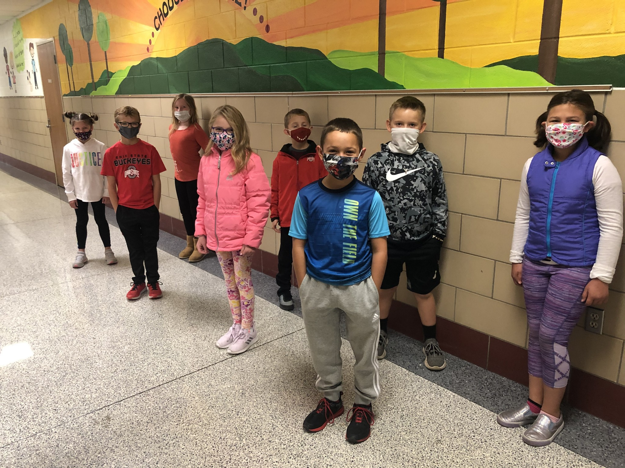 R.C. Waters' second grade top Class Dojo winners for September. (Submitted photo)