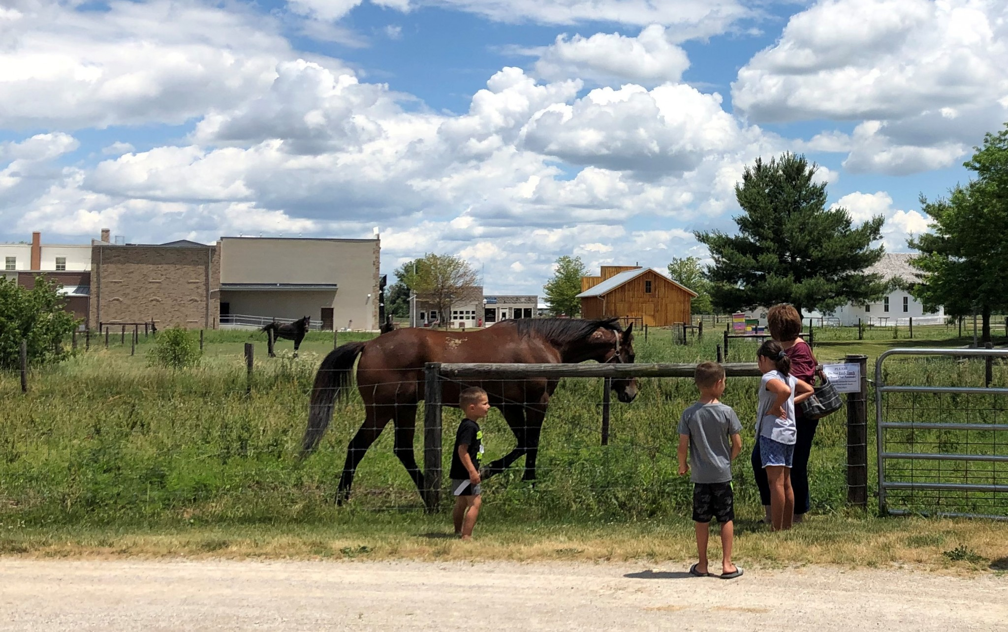 Sauder Village will celebrate Summer on the Farm, complete with stories, demonstrations and fun activities that bring Ohio's history to life, on Saturday July 11. (Photo courtesy of Sauder Village)