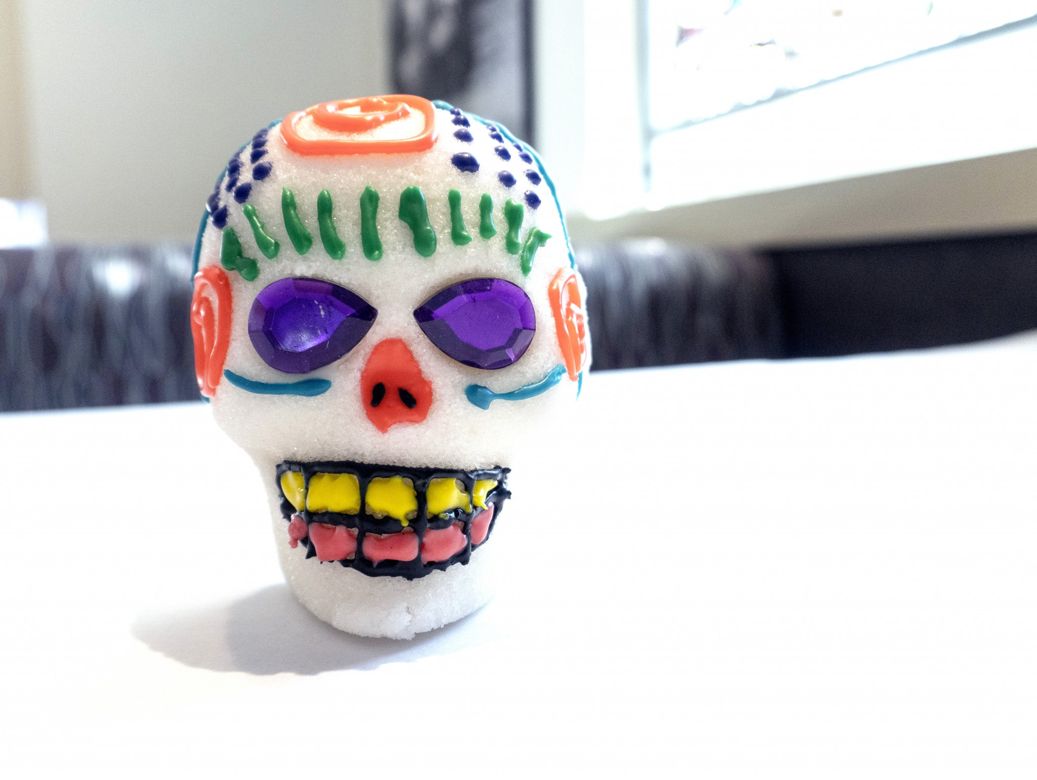 Just in time for de Los Muertos or Day of the Dead, decorate a sugar skull at the Toledo Museum of Art Café Oct. 26 and 27.  (Photo courtesy of the Toledo Museum of Art)