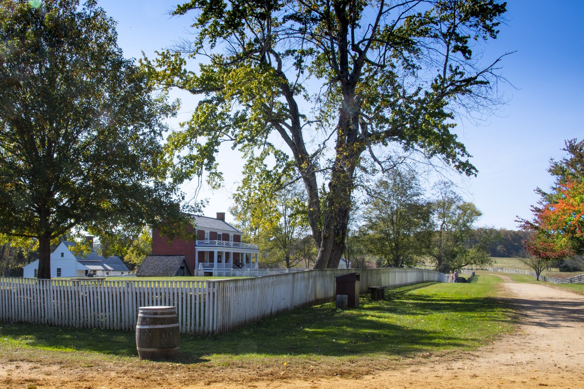Among the many Civil War sites preserved in the region is Appomattox Courthouse National Historic Park where a number of structures are preserved, most notably the McLean House where General Ulysses S. Grant and General Robert E. Lee signed the surrender terms for Lee's Army of Northern Virginia, effectively ending the Civil War. (Photo by Art Weber)