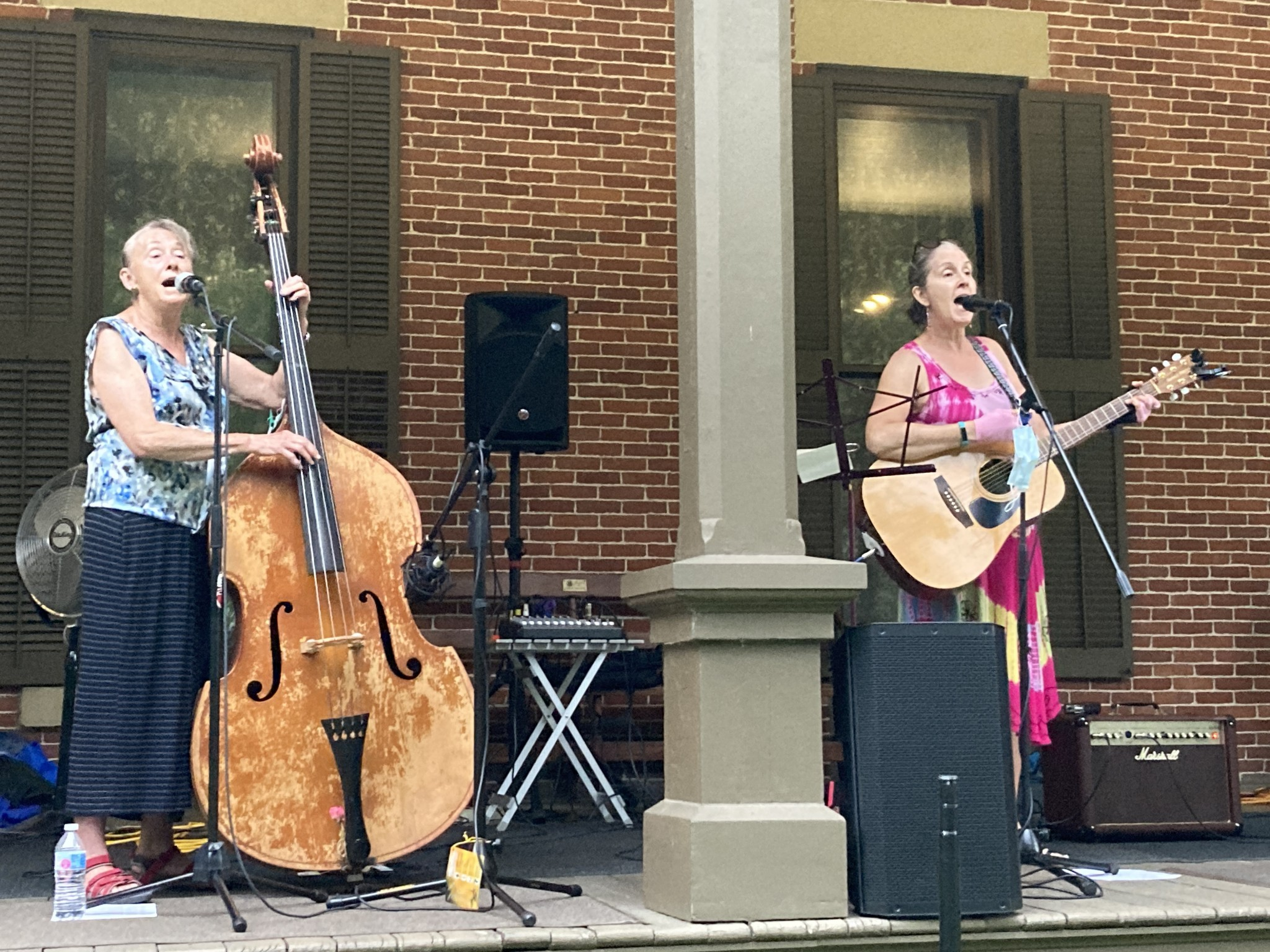 The Cottonwood Jam String Band performs at the July 8 Verandah Concert at Hayes Presidential Library & Museums. The concert will be held Wednesday, July 22, and will feature Nostalgia, a vocal ensemble. (Submitted photo)