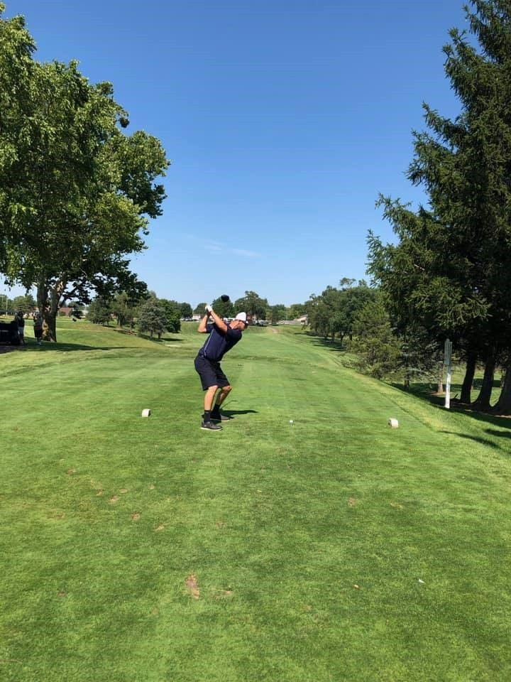 Golfer Zach Parcher (shown) is among four Wood County Special Olympics athletes who will compete in the State Golf Tournament in Cincinnati on Sept. 17 and 18. (Submitted photo)