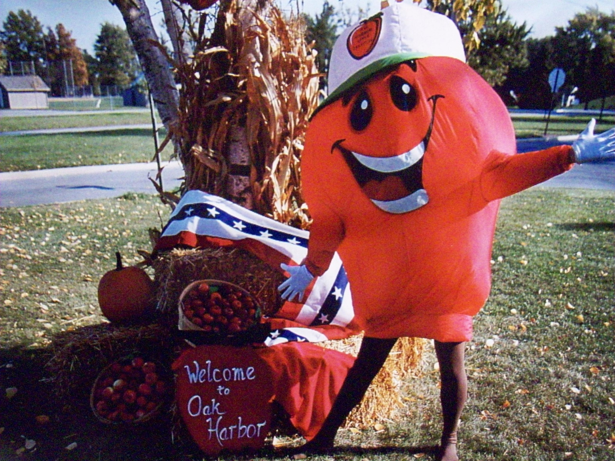 More than 25,000 visitors are expected at the Oak Harbor Apple Festival, which is celebrating its 41st year in 2019. The family-oriented festival offers something for everyone, including a Grand Parade, entertainment, food, music, contests, crafts and car and bike show and more. (Photo courtesy of Oak Harbor Area Chamber of Commerce)