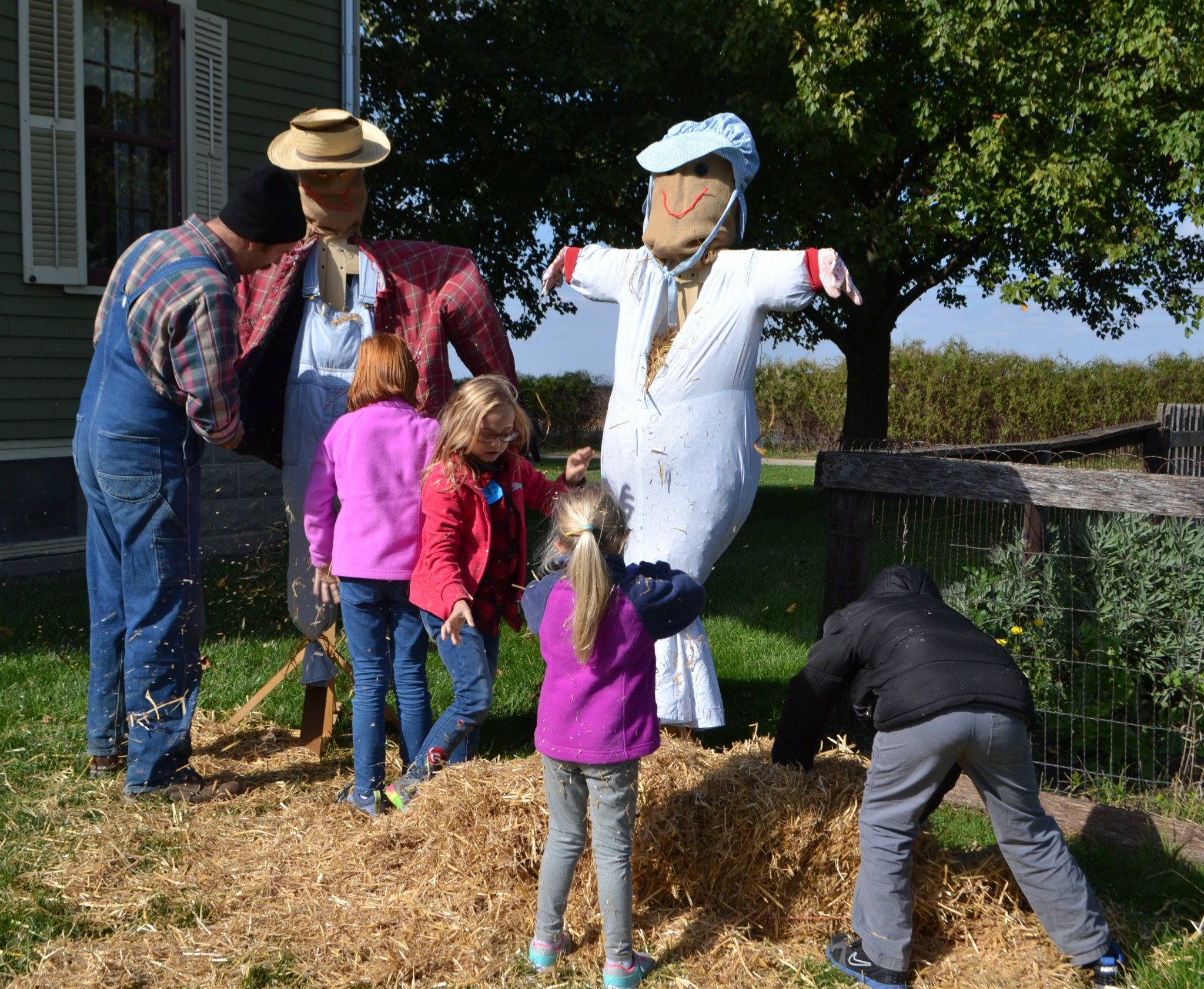 Sauder Village will celebrate Fall on the Farm Oct. 12 with a cornucopia of family-friendly autumn activities. Oct. 12 is also Scout Day, with free admission for Boy and Girl Scouts and American Heritage Girls and Boys. (Submitted photo)