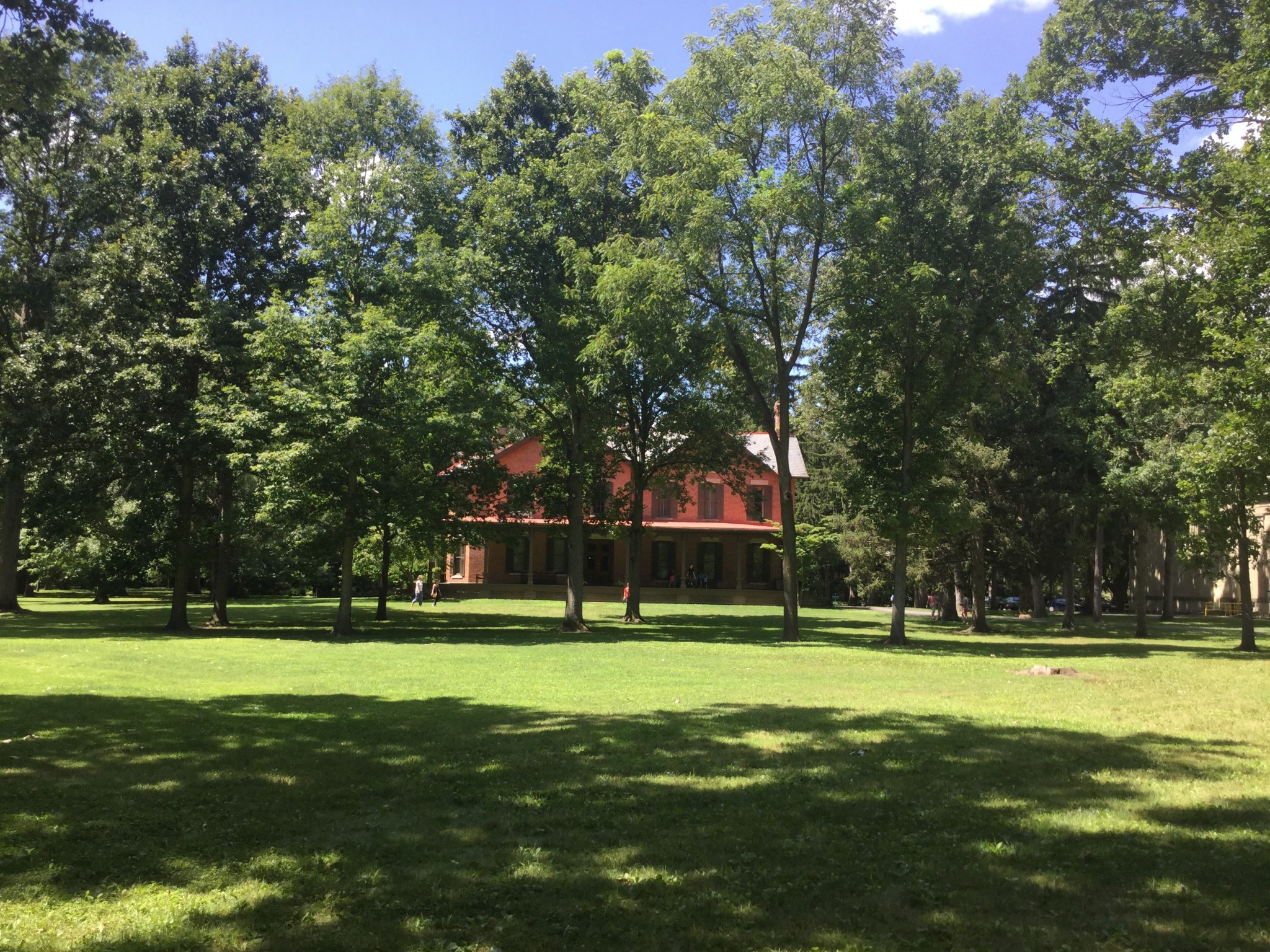 Featuring more than 1,700 trees, Spiegel Grove, the grounds of the Hayes Presidential Library & Museums, has been designated an arboretum. (Submitted photo)