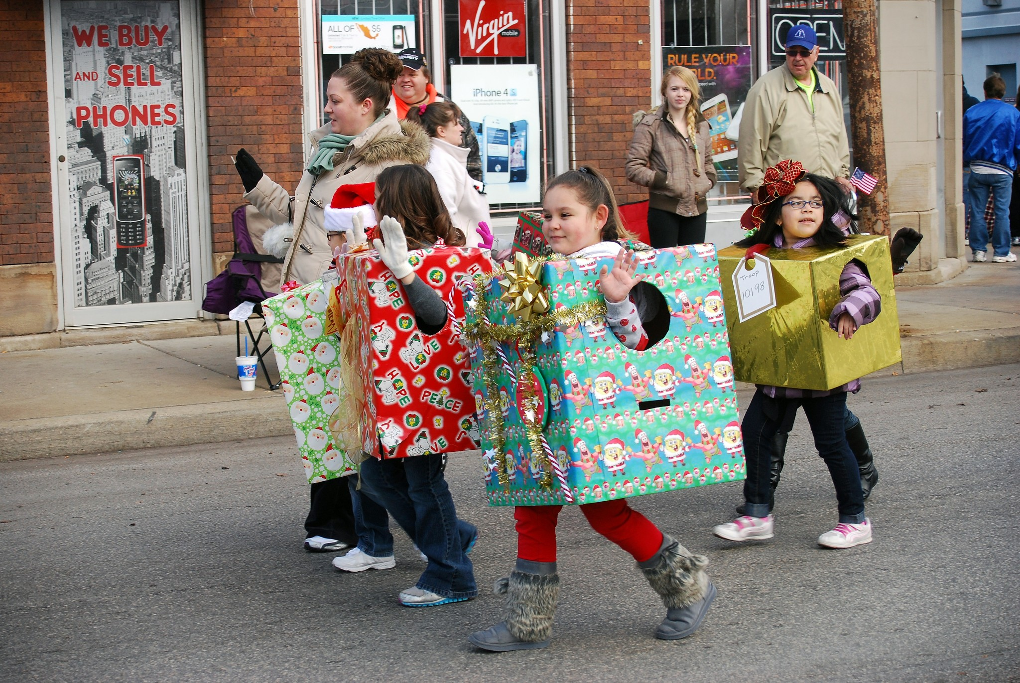"A holiday tradition, the 47th East Toledo Christmas Parade will be held Saturday, Dec. 7  at 11 a.m. This year's theme is ""Up on the House Top."" (Press photo by Ken Grosjean)"