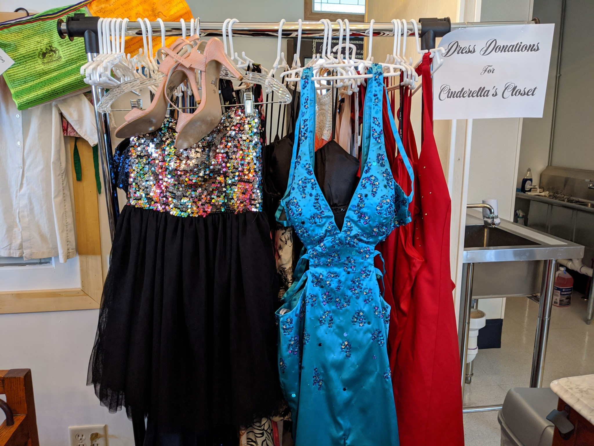 Random Acts of Walbridge, in partnership with Cinderella's Closet of Northeast Ohio, is collecting new and gently used formal dresses, sizes 0-32. Dresses should be on-trend, in excellent condition and, if possible, cleaned prior to donating. (Press photo by Katie Siebenaller)