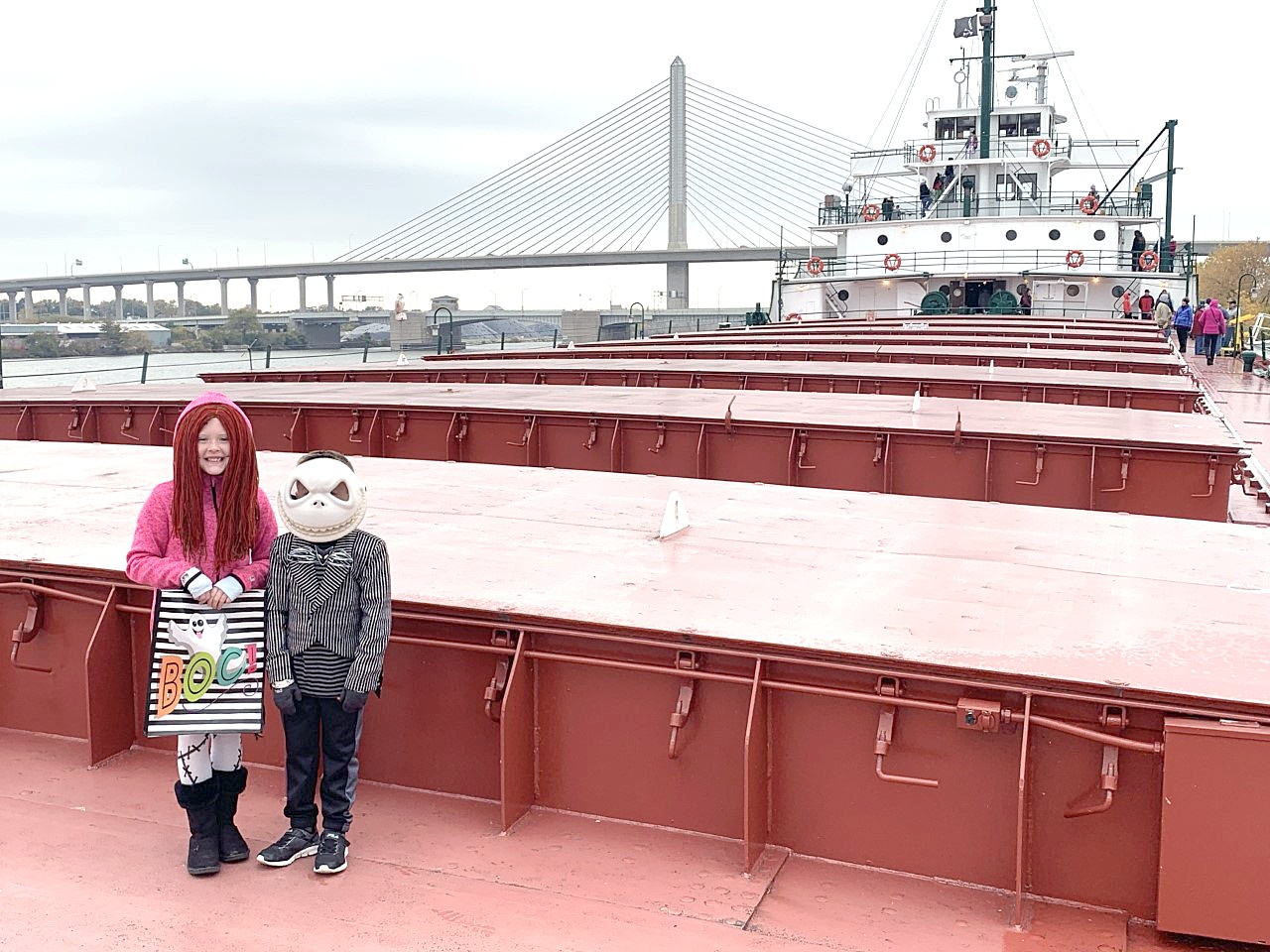 The National Museum of the Great Lakes invites young goblins and ghouls visit the museum in costume from Oct. 24-31 to trick-or-treat aboard two of Toledo's most historic haunts, the Col. James M. Schoonmaker Museum Ship and the Museum Tug Ohio. (Submitted photo)