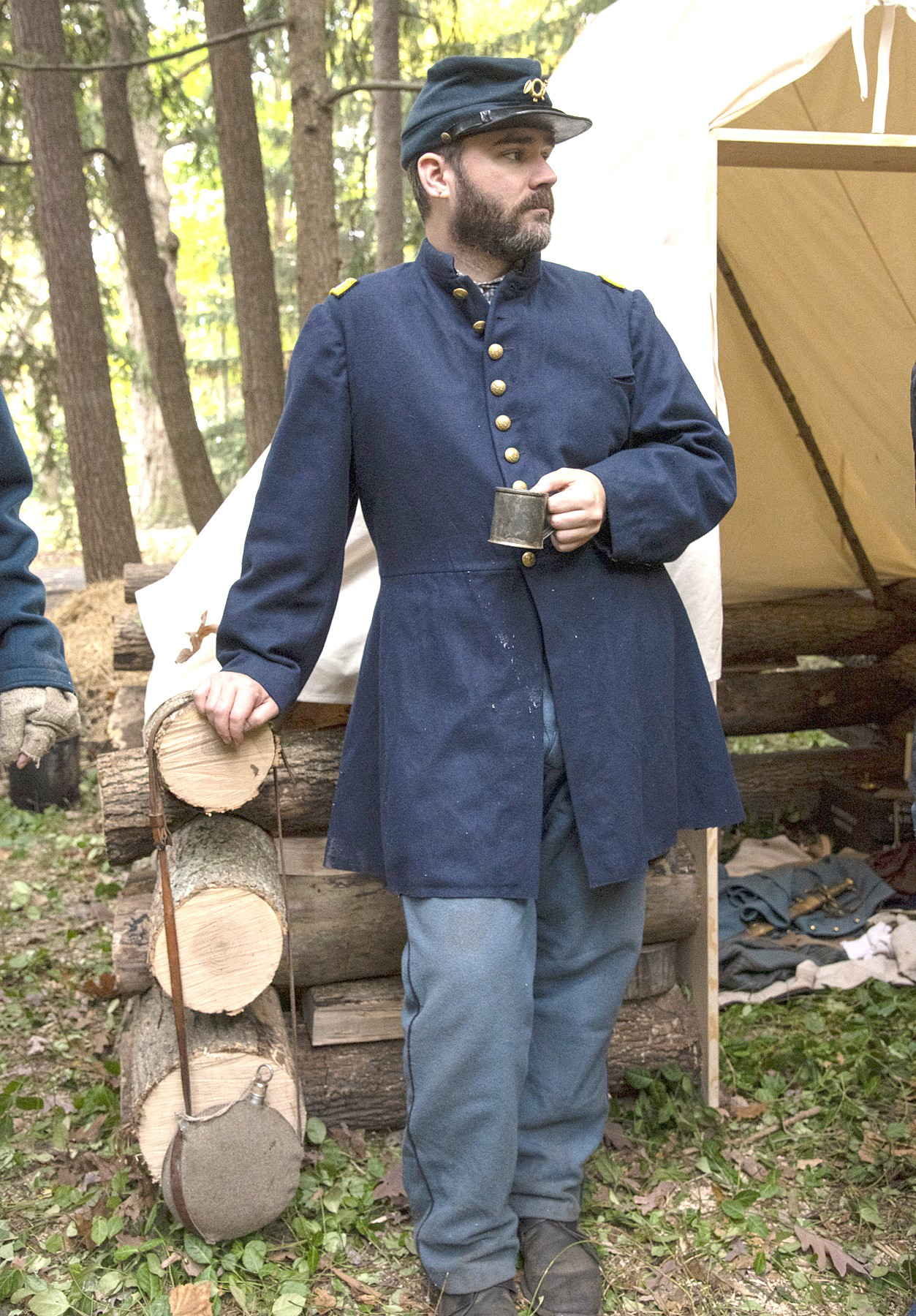 Visitors can experience what life was like for President Rutherford B. Hayes' Civil War regiment at events taking place Oct. 24 at the Hayes Presidential Library & Museums in Fremont. (Submitted photo)