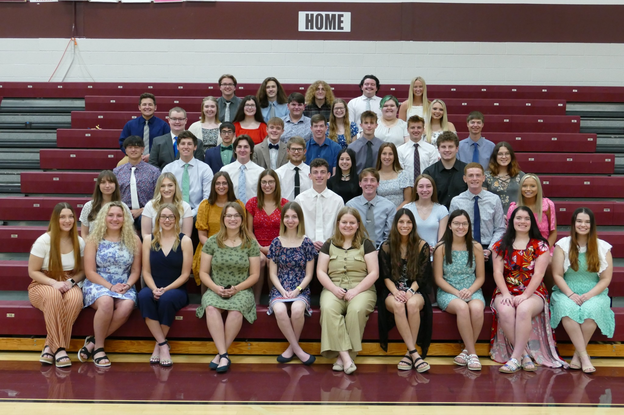 The Genoa Area Local Schools Scholarship Foundation, Inc., which is celebrating 30 years in 2021, announced this year's scholarship recipients an awards program held at Genoa High School on May 21. (Submitted photo)