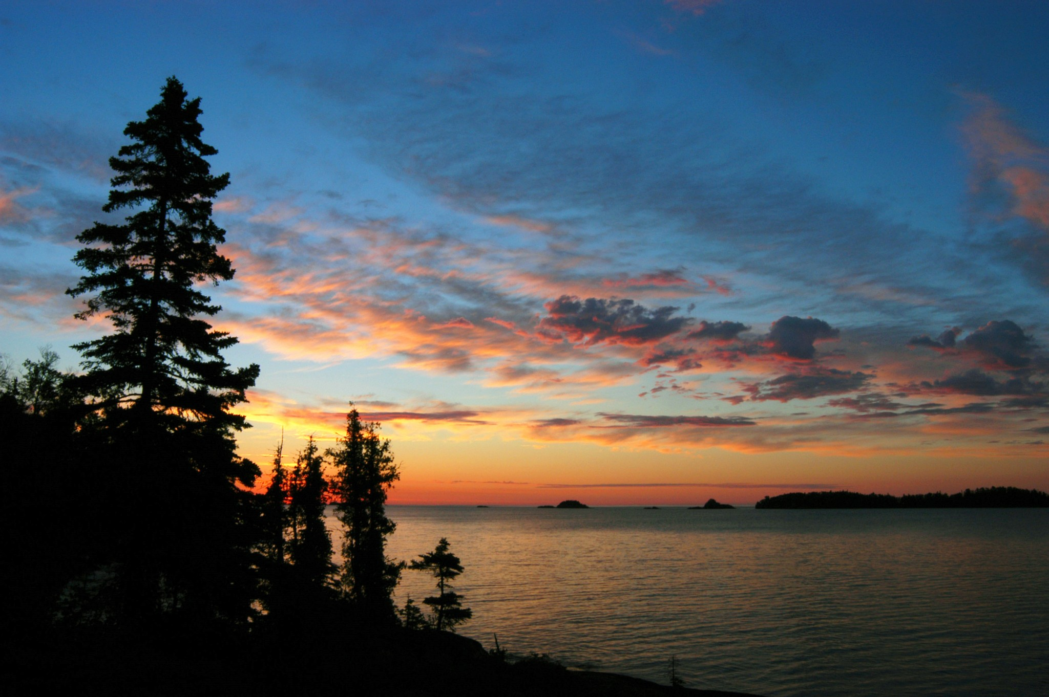 Dawn comes to Scoville Point on Isle Royale National Park. (Photo by Art Weber)