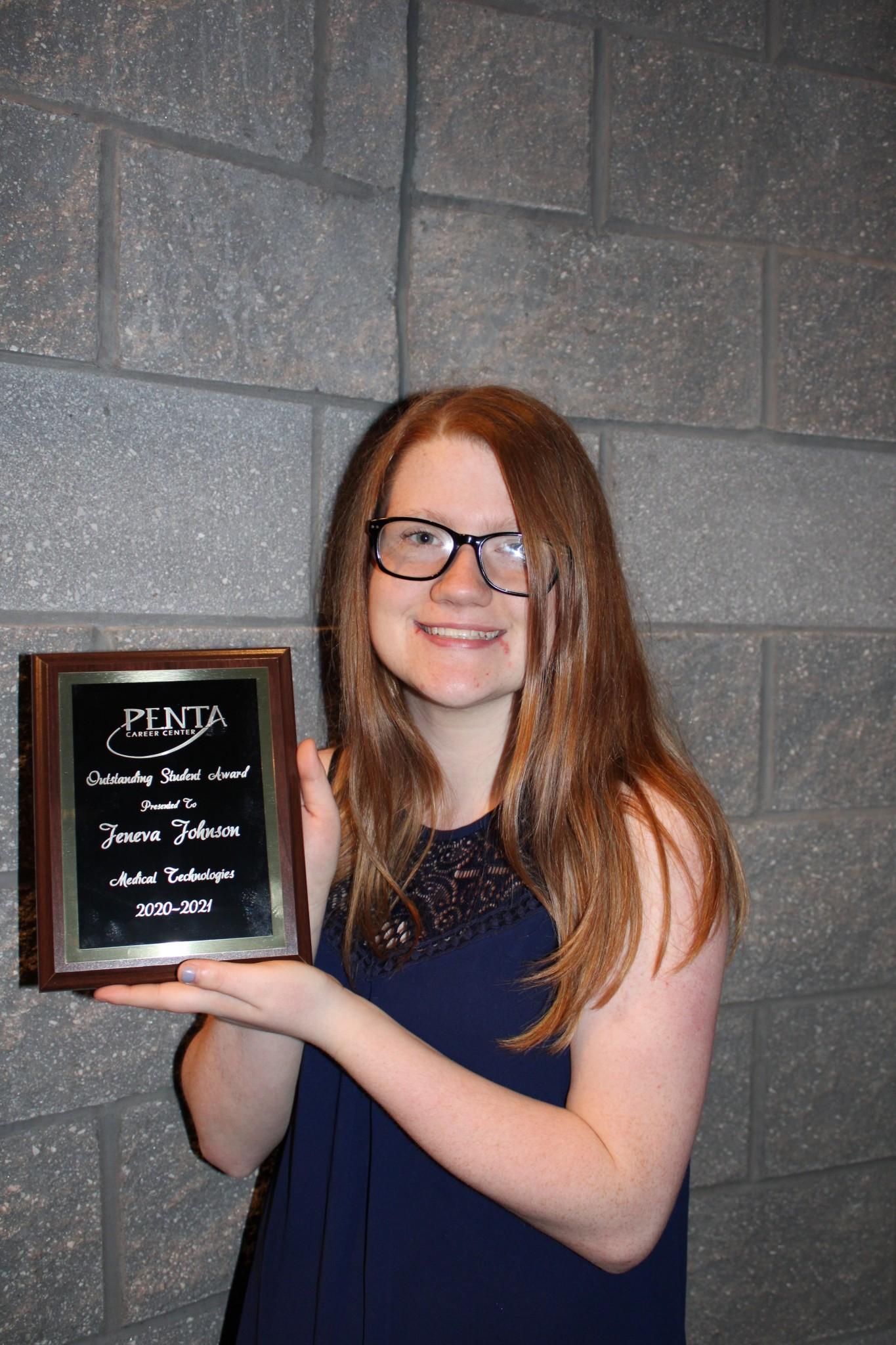 Jeneva Johnson, Oak Harbor, Medical Technologies Program.