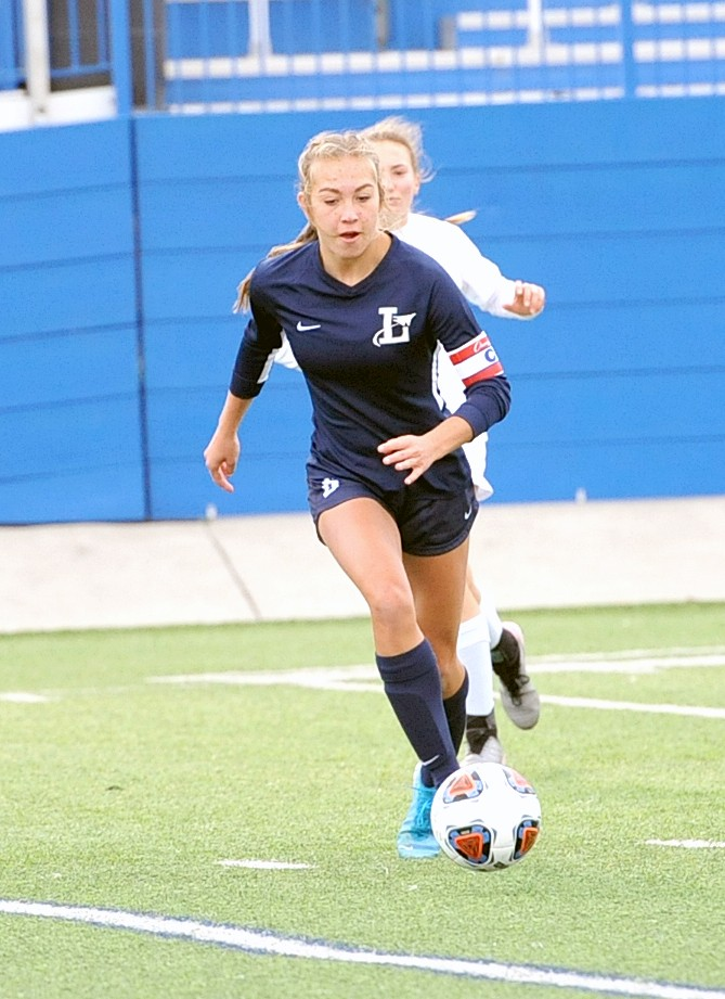 Lake soccer player Ava Ayers. (File photo by LIfeTouch courtesy Lake Schools)