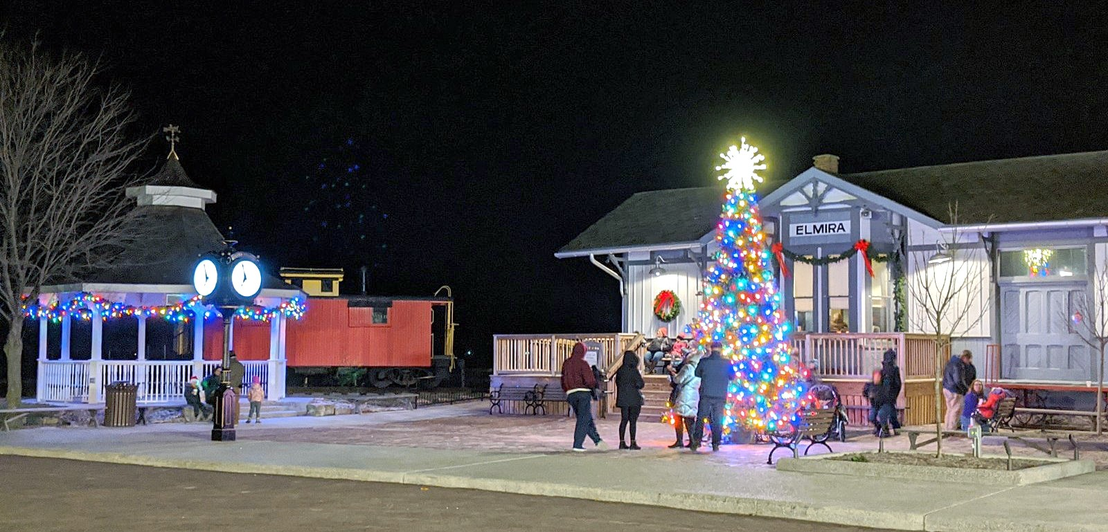 It's beginning to look a lot like Christmas at Sauder Village, which is debuting a new 1920s on Main Street event this year. (Submitted photo)