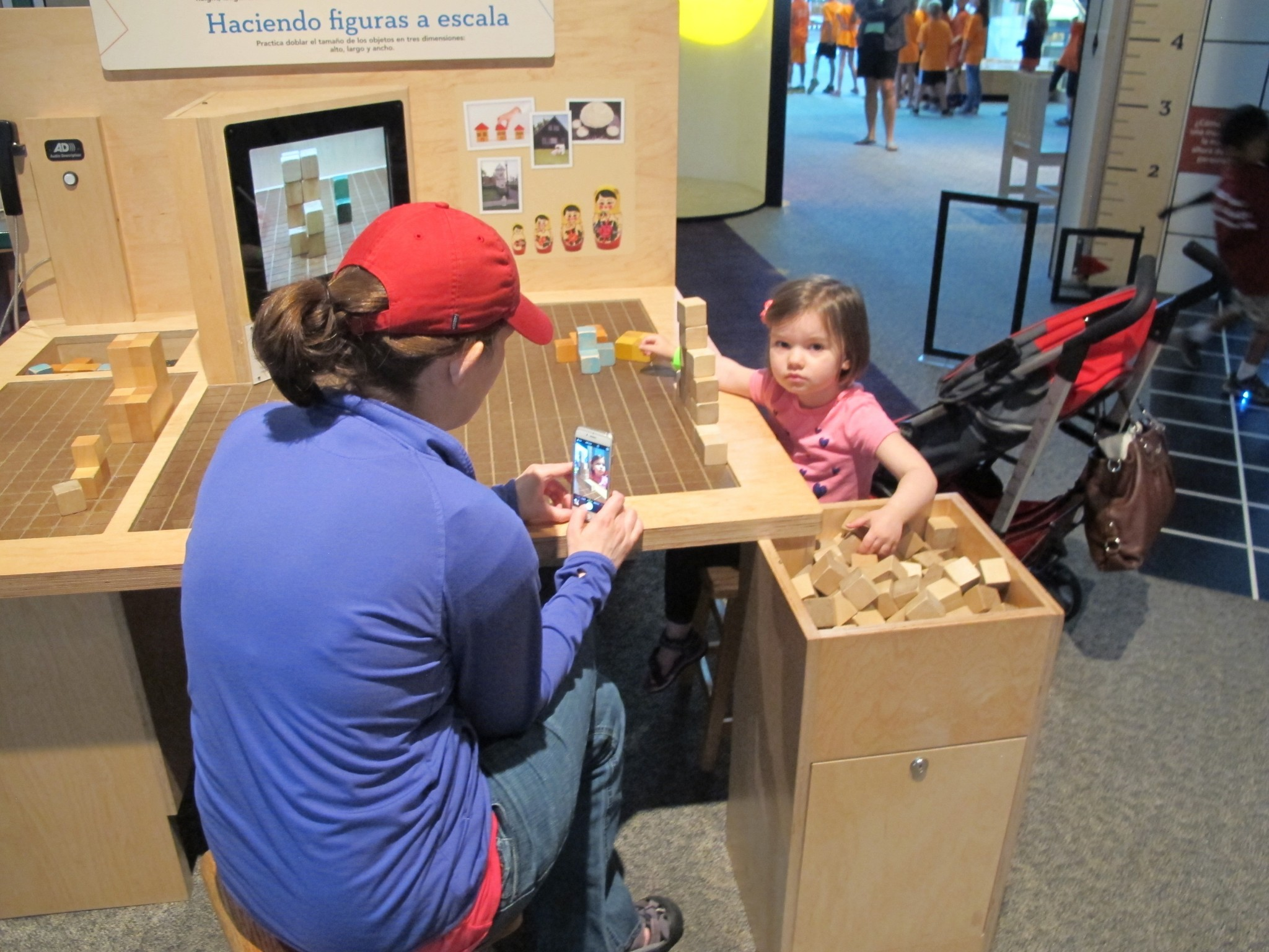 """Imagination Station's new exhibit, """"Math Moves,"""" features a variety of hands-on activities to make experimenting with concepts at the heart of math challenging and fun for kids and adults. (Photo courtesy of Imagination Station)"""