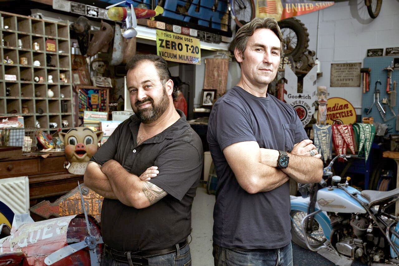 """""""American Pickers"""" Mike Wolfe and Frank Fritz are coming to Ohio in October in search of treasures. (Submitted photo)"""