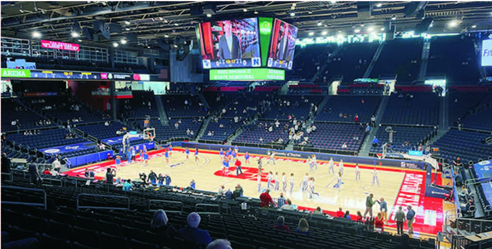 UD Arena (courtesy OHSAA)