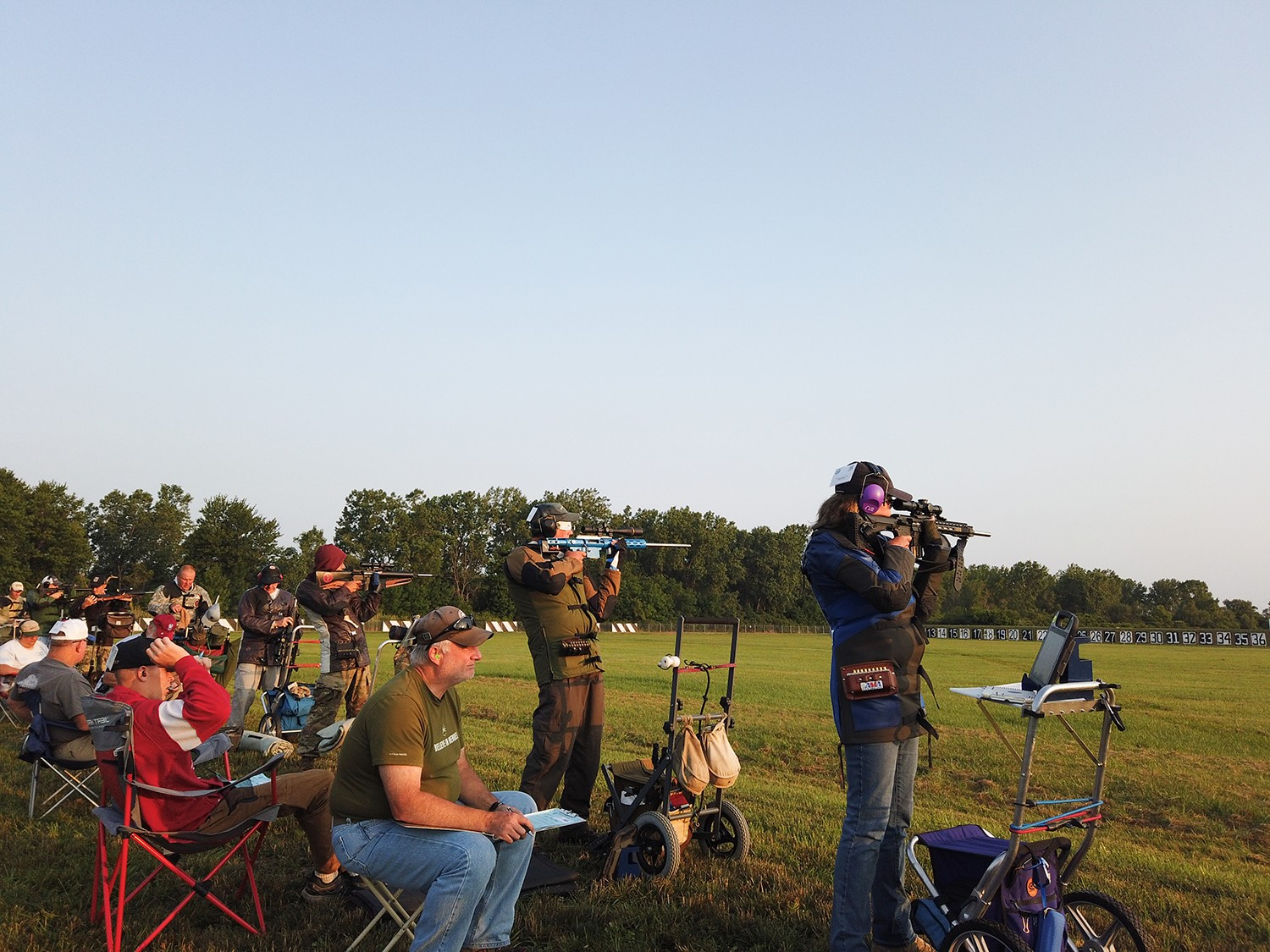 Highpower rifle events will also be held on Camp Perry's Viale Range in June. (Photo courtesy CMP)