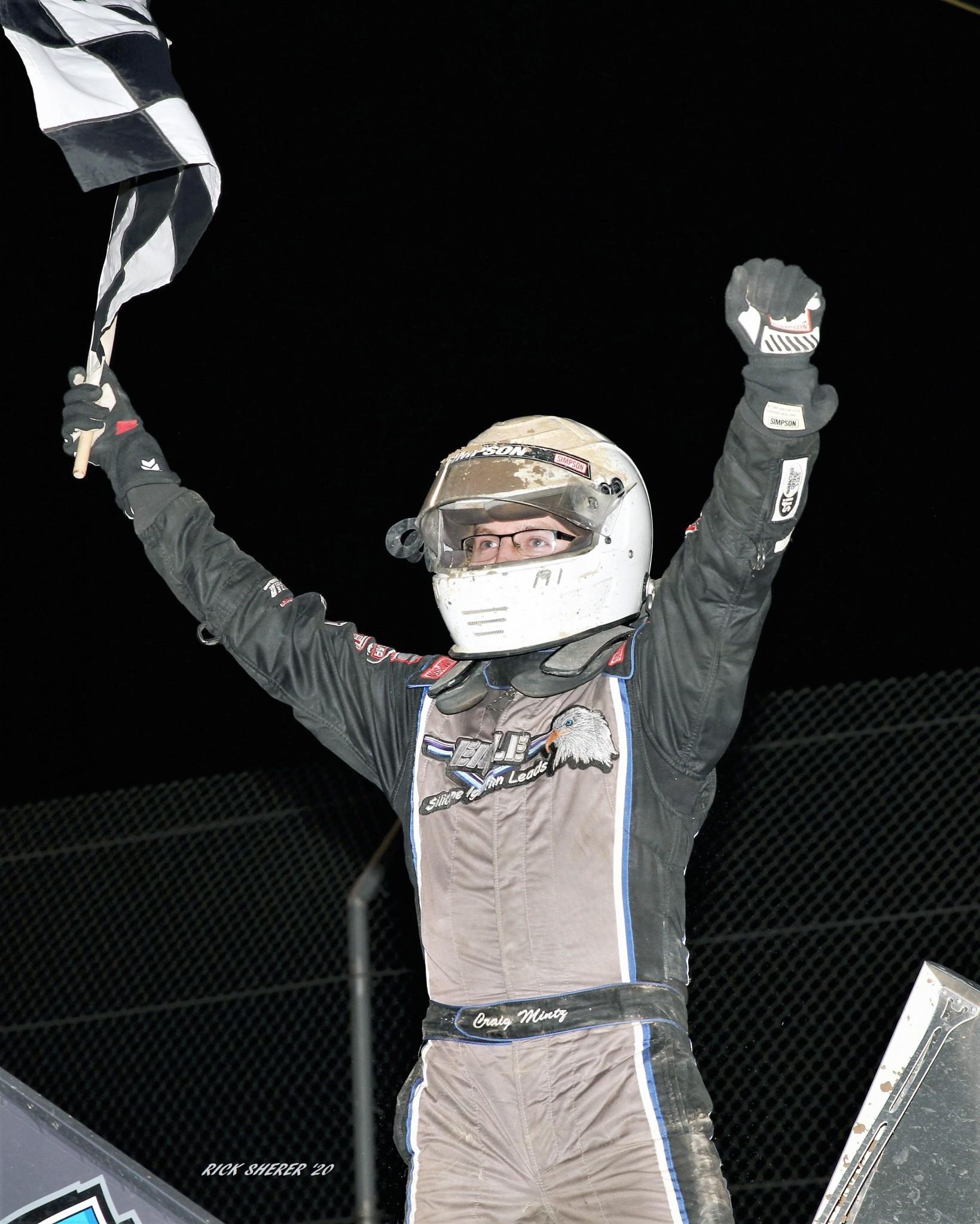 Gibsonburg driver Craig Mintz. (Photo by Rick Sherer)