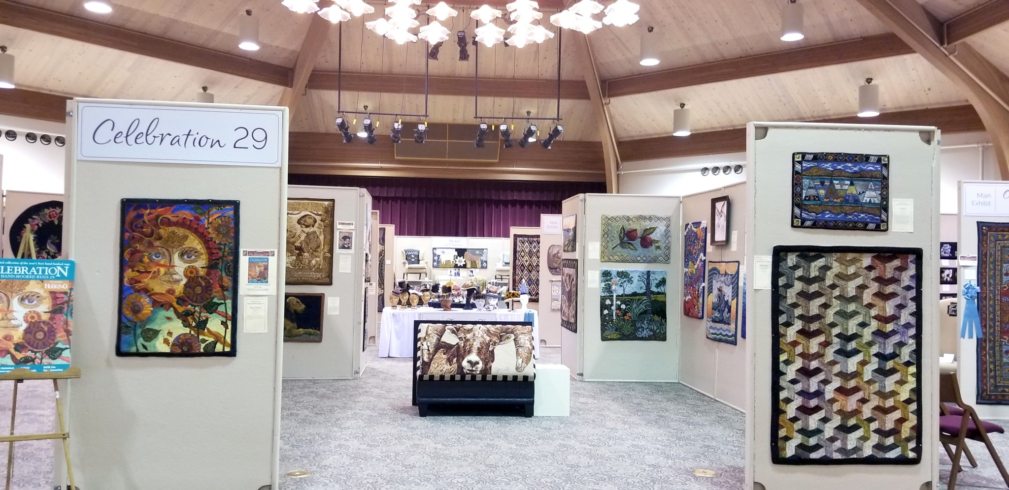 Sauder Village's 25th Annual Rug Hooking Week, which will be held Aug. 18-21 at the historic village located in Archbold, will feature a museum-quality exhibit, workshops, vendors and more. (Photo courtesy of Sauder Village)