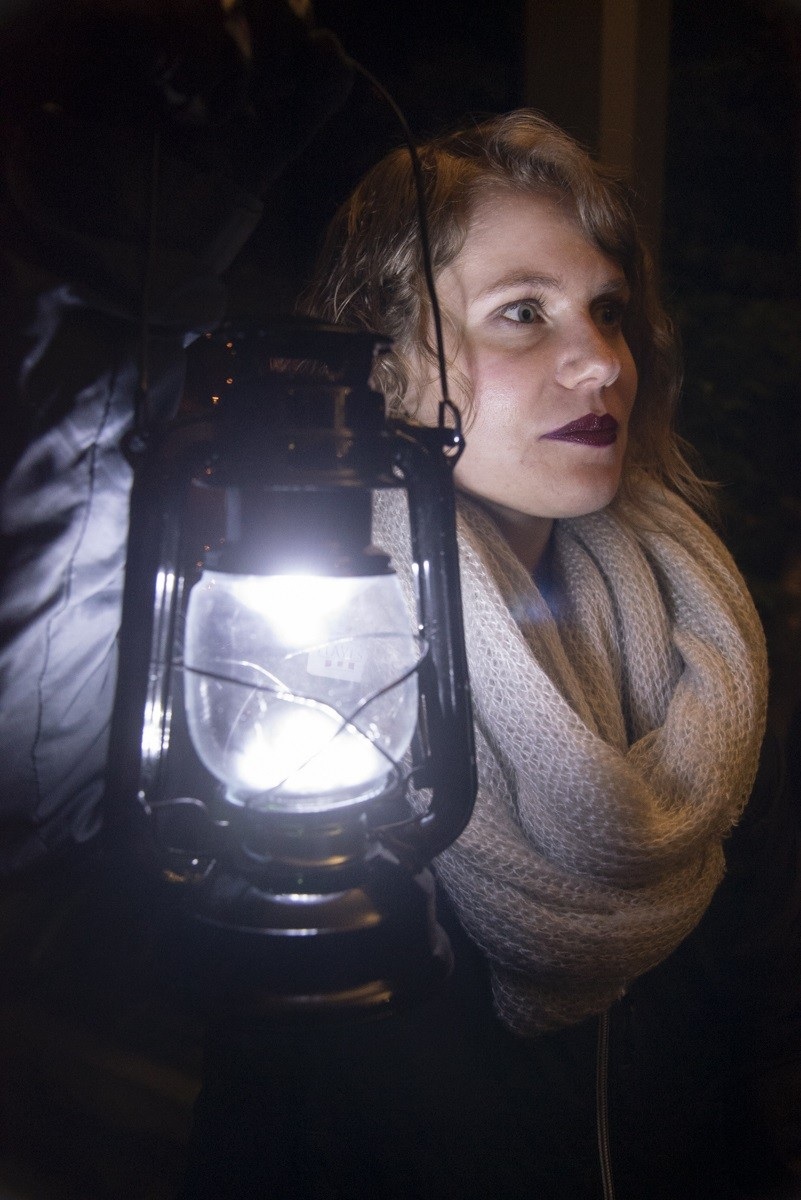 A lantern guide will lead Spirit Stories tours through Spiegel Grove on Oct. 30. This year, tours will also include two stops in the historic Hayes Home. (Submitted photos)