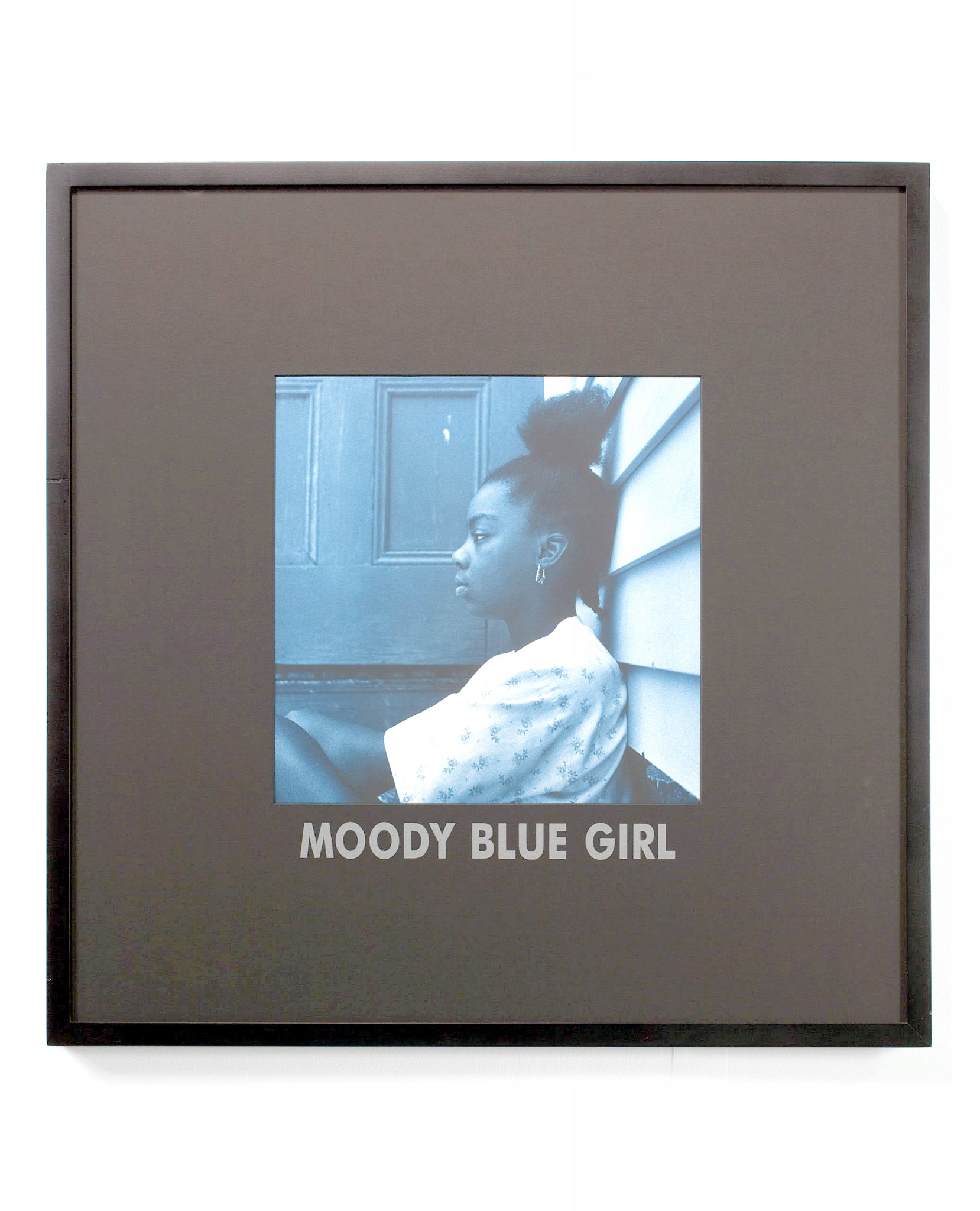 """Carrie Mae Weems' """"Moody Blue Girl"""" is among the work featured in """"PICTURE ID: Contemporary African American Works on Paper"""" on exhibit at the Toledo Museum of Art through Jan. 17, 2021. (Photo courtesy of the Toledo Museum of Art)"""