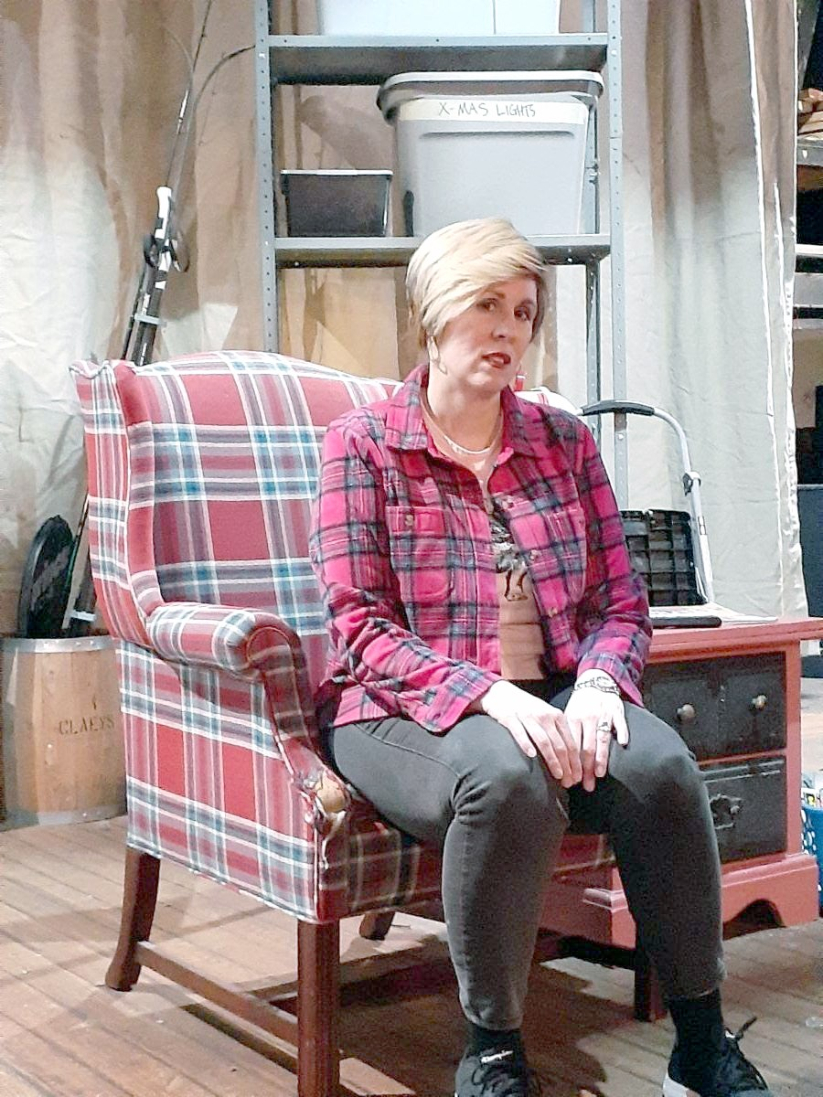 """Cindy Bilby stars in Lauren Gunderson's """"Natural Shocks,"""" presented by Actors Collaborative Toledo at the Toledo Rep Theatre Feb. 5-7. (Submitted photo)"""