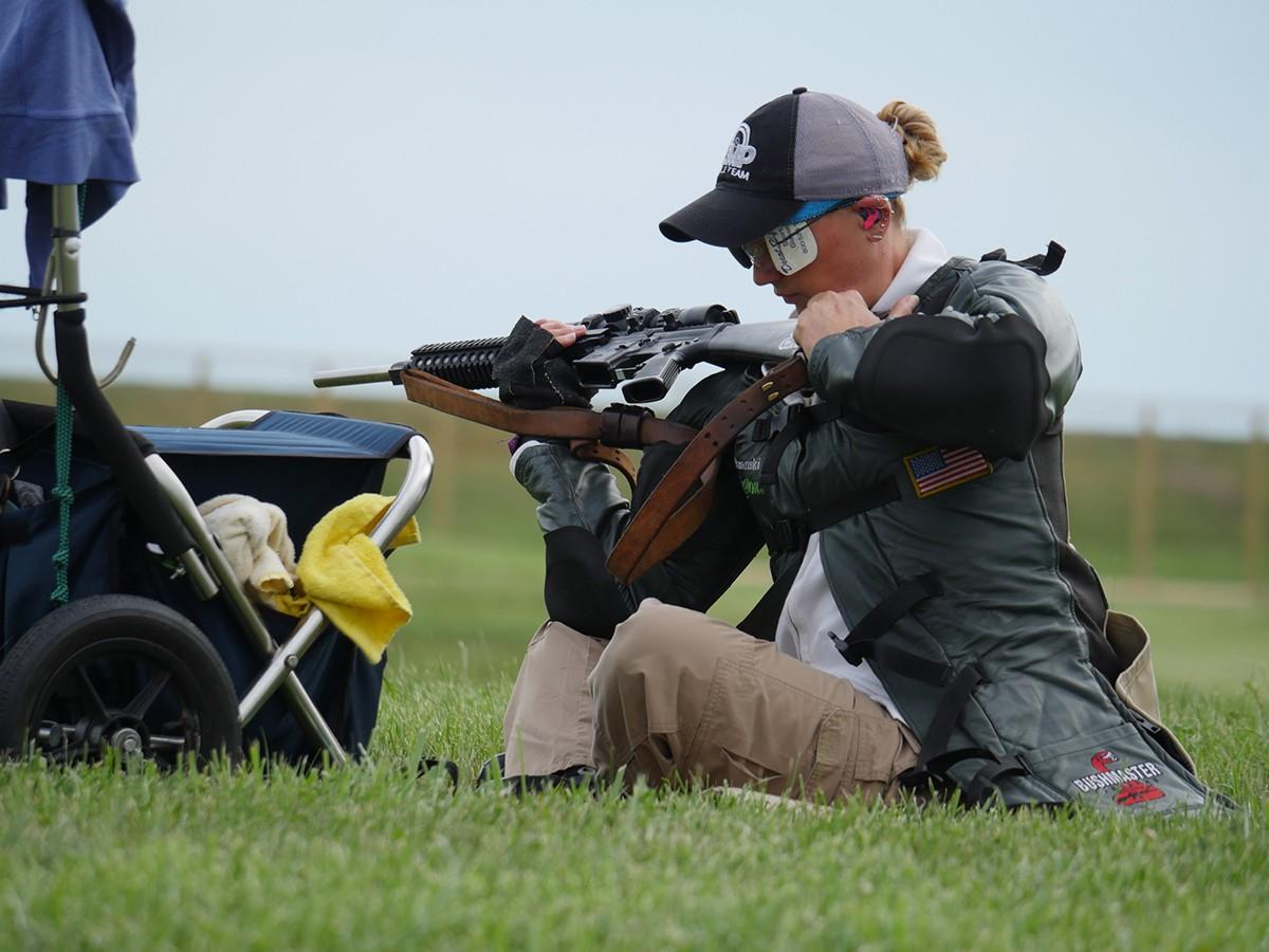 Elmore shooter Sara Rozanski. (Photo courtesy CMP)