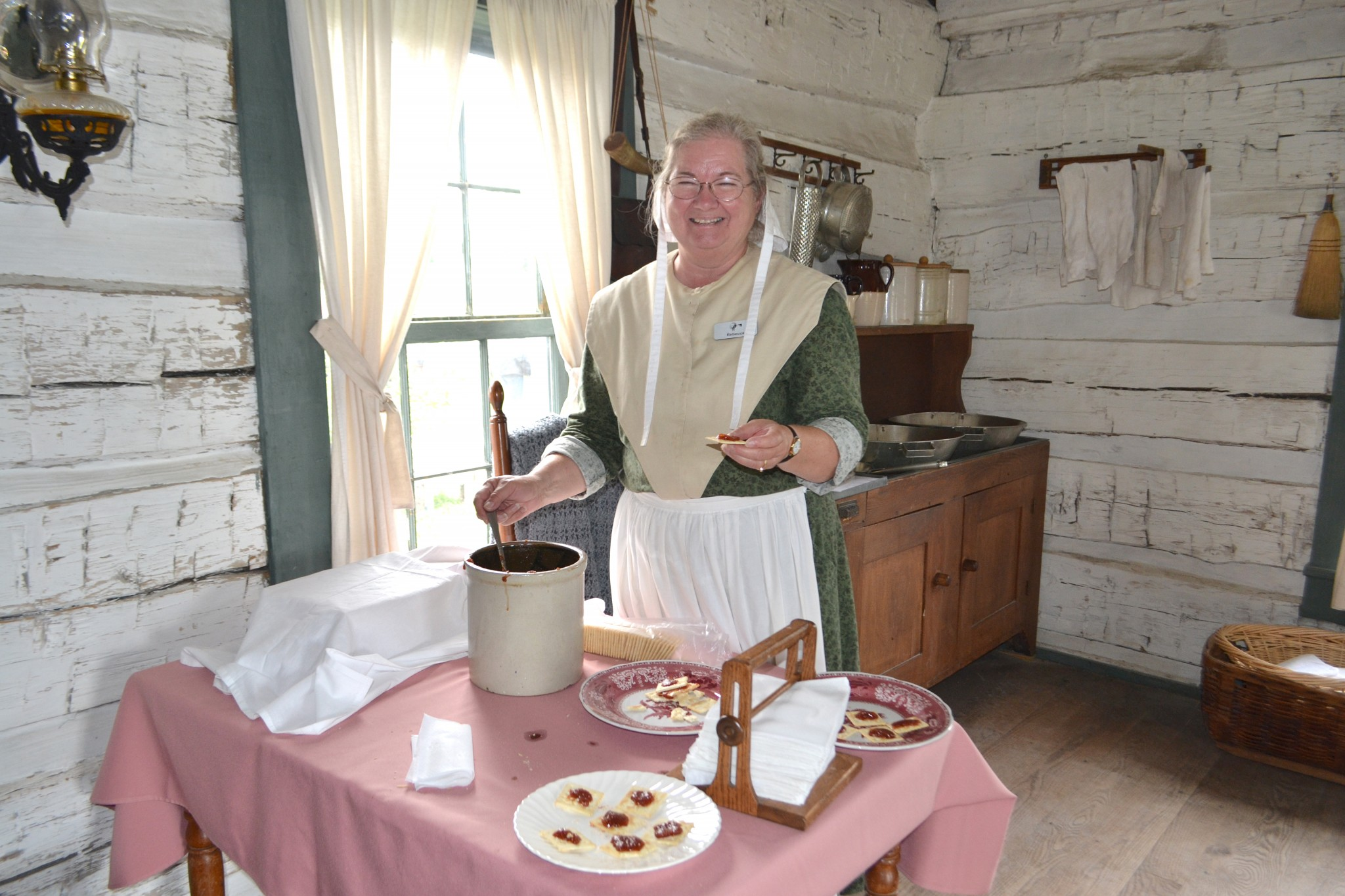 Apple Week at Sauder Village, set for Sept. 17-21, will delight all the senses with such events as cider pressing, apple cooking demonstrations, apple-themed activities, apple butter making and more. (Photo courtesy of Sauder Village)