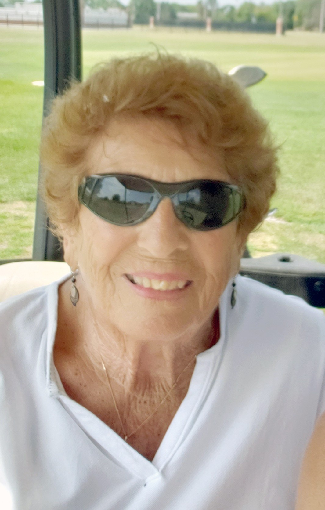 Soon to be 91-years-old Josephine Bonner, a longtime Walbridge resident, on the links. (Photo courtesy Kristie Ackerman)