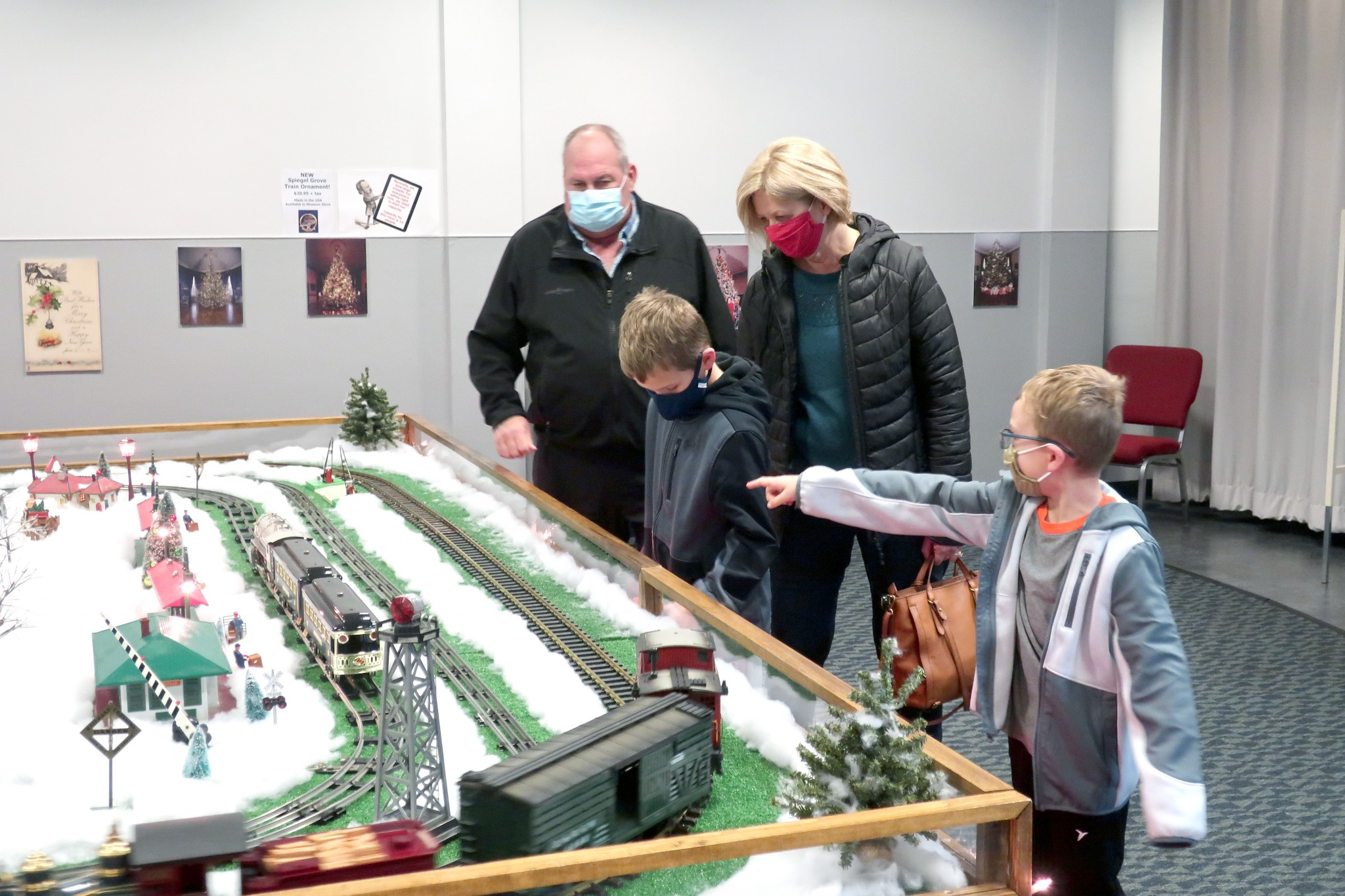 """Attendees at the annual Train Clinic, set for Saturday, Jan. 2 at the Hayes Presidential Library & Museums, will also get to see the """"Hayes Train Special"""" model train display. (Submitted photo)"""